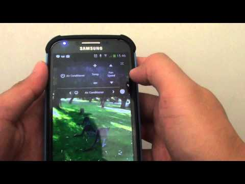 Samsung Galaxy S4: Updated WatchOn Widget on the Lock Screen With Better User Interface