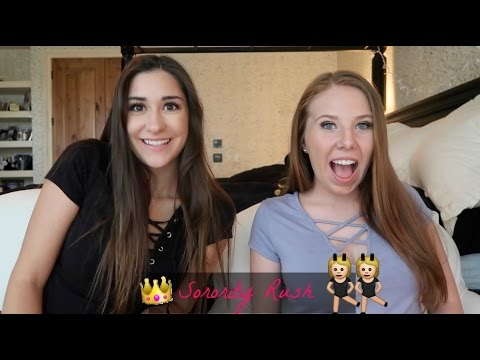 Sorority Rush: What to expect | Rach & Em