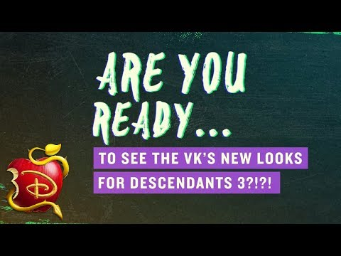 #D3 Deet: New VK Style! 😍 | Descendants 3