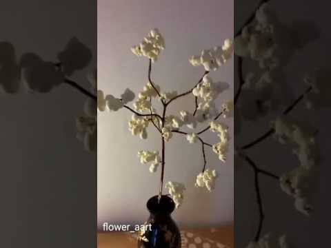 How to make a tree out of popcorn (tutorial)
