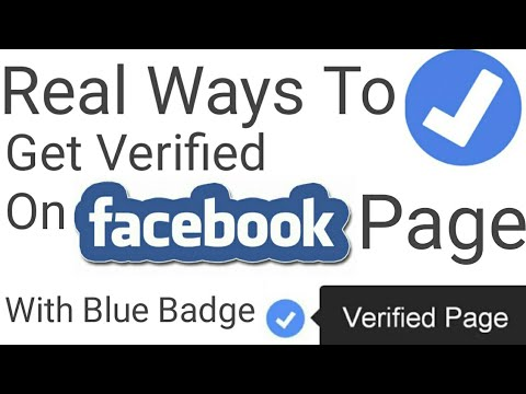 Real ways to get verified on Facebook Page with blue badge || Blue tick kaise lgaye Facebook page pe