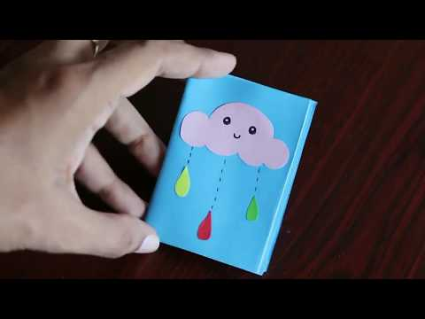 How to make note book 📑📒📔📖📰 with only 1 A4 size paper