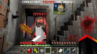 ESCAPE FROM GRANNY'S MINECRAFT HOUSE!