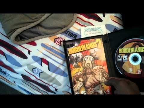 Borderlands 2 PC Unboxing