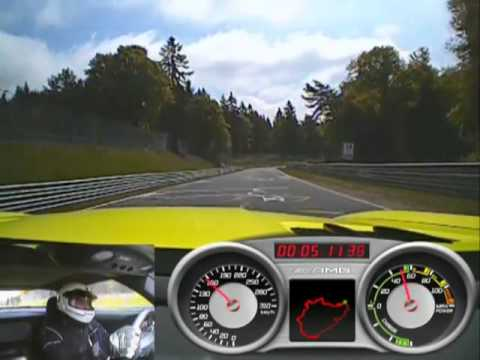 Mercedes SLS AMG Electric Drive   Nürburgring Lap Record