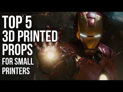 Top 5 3D Printed Props for Smaller 3D Printers | Cosplay