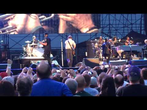 Bruce Springsteen (First 4 Opening Songs) Live at Hershey Park Stadium, PA 5-14-14 (Part 1)