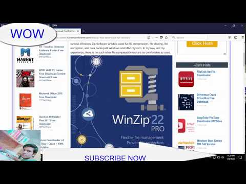 .WinZip Free Download Full Version  WinZip Crack Free Download