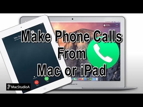 Use iPad or Mac To Make Phone Calls