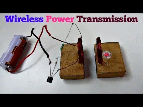 Wireless Power - How to make a Wireless Power Transmission Circuit