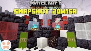Blackstone + Basalt Delta Biome! OVER 20 NEW BLOCKS! | Minecraft 1.16 Nether Update Snapshot 20w15a