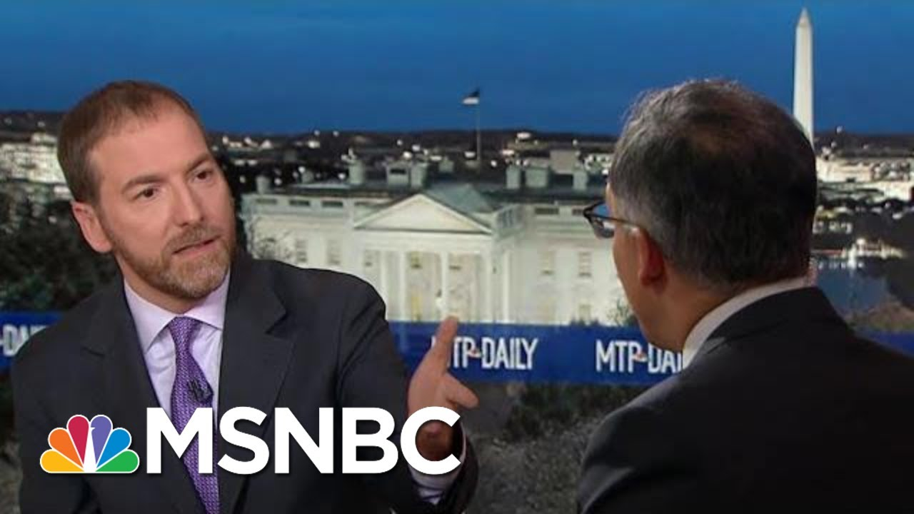 Neal Katyal On Ken Starr: 'It Is An Unusual Choice' For Pres. Legal Defense Team | MTP Daily | MSNBC