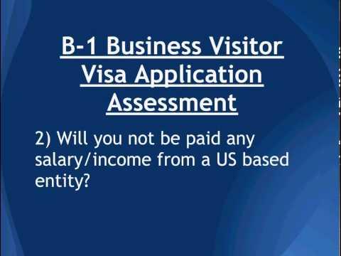 B1 Business Visa Applications - Free Case Assessment (usavisalaw.com)