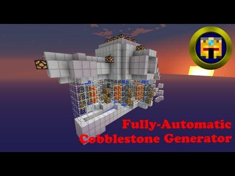 Fully Automatic Cobblestone Generator.