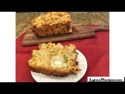 Cheesy Onion Beer Bread - Lynn's Recipes