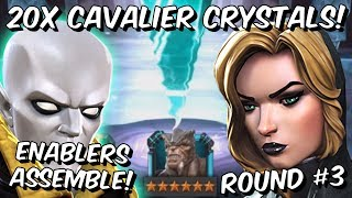 Download 20x 6 Star Vision & Black Widow Cavalier Crystal Opening Round #3! - Marvel Contest of Champion Video