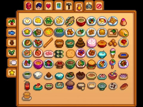 Stardew Valley - How To Get New Recipes (Full Tutorial)