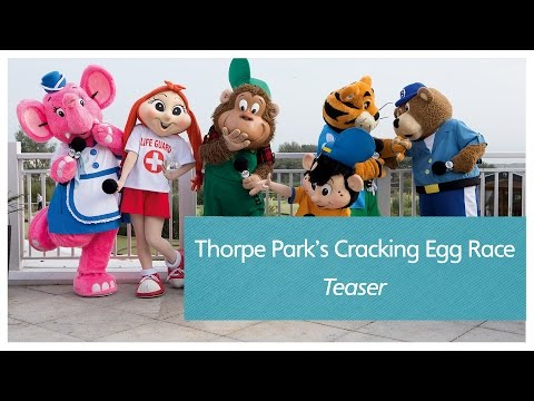 Thorpe Park's Cracking Egg Race teaser