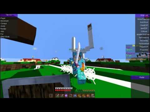Minecraft Hack Skywars Beste Hacked Client 2017