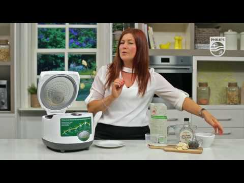 Philips Grain Master - How to make Homemade Porridge with Rice Cooker