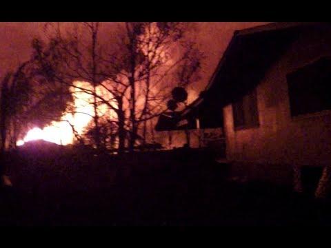 Leilani Hawaii Lava Fissure 8 June 6 10pm