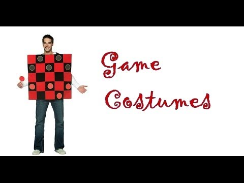 Video and Board Game Costumes for Halloween