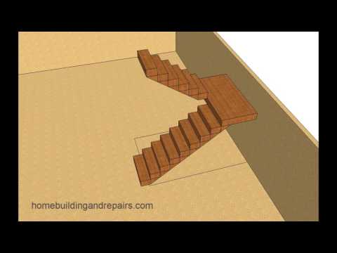 Ideas for Designing Landing Stairs in Small Spaces – Building and Remodeling