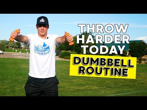 Throw Harder Using This Dumbbell Exercise Routine!