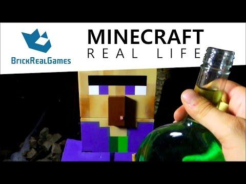 Minecraft Real Life - Potion of Poison - BrickRealGames