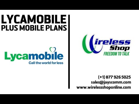 LycaMobile Plus Cell Plans   Wireless Shop