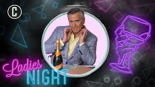 Bruce Campbell Spreads Valentine's Day Love Deadite-Style on Collider Ladies Night