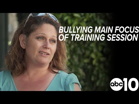 Parents of bullied children with disabilities attend training session