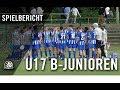 1 FC Union Berlin U17 Hertha BSC U17 Halbfinale B Junioren Pokal