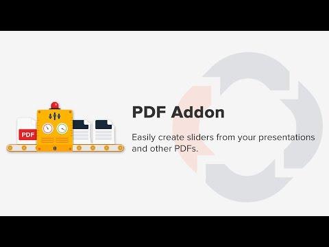 PDF to WordPress Slides - Soliloquy WordPress Slider