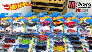 Unboxing Hot Wheels 2018 M Case 72 Car Assortment!