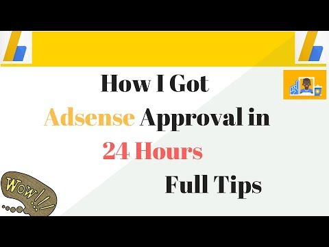 How to get Adsense Approval in 24 Hours Full Solution