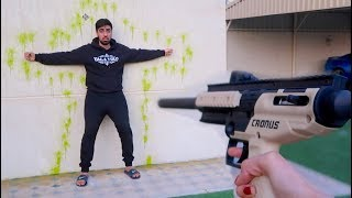 SHOOTING MY BROTHER !!!