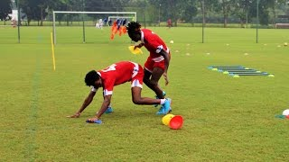 Agility Drills for Soccer Players