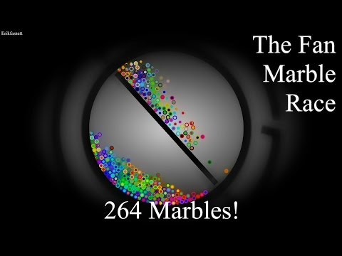 Algodoo Fan Marble Race - Part 5