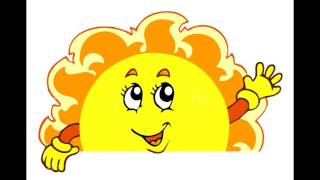A man fights the sun