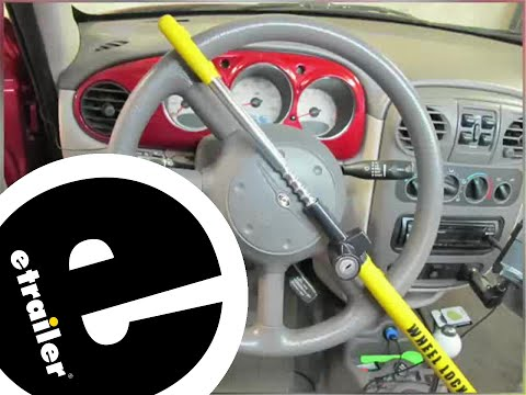 review club steering wheel lock wi900yellow - etrailer.com