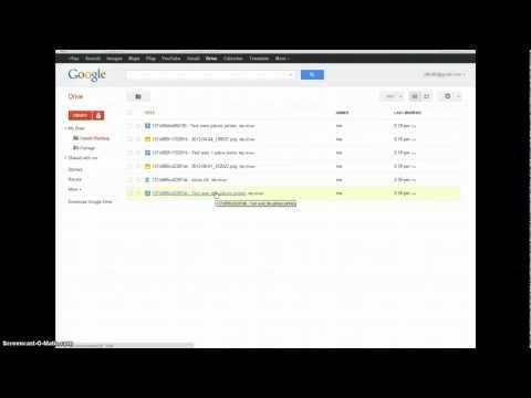Gmail Drive Backup - Demonstration