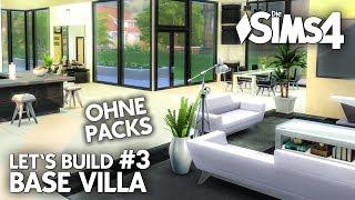 Die Sims 4 Haus Bauen Ohne Packs Base Villa 1 Grundriss