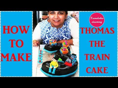 Thomas The Train:Cake decorating tutorial
