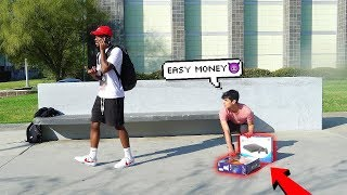 Dropping Ps4's at School!   THE HARD HONESTY SOCIAL EXPERIMENT