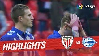 Resumen de Athletic Club vs Deportivo Alavés (0-0)