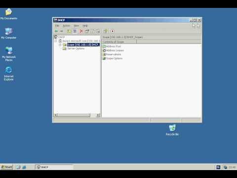 Windows Server 2003 - DHCP Server Address Leases