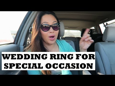 WEDDING RING FOR SPECIAL OCCASION