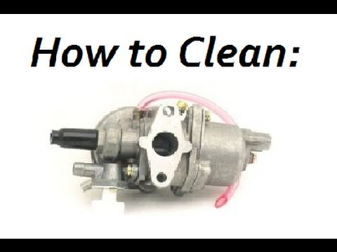 How To: Properly Clean Pocket Bike/ATV Carburetor Help Carb (or any 2-stroke)