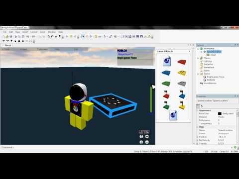 How to Change Team Spawn Colors on ROBLOX